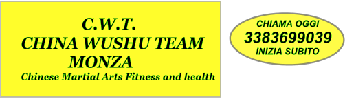 CHIAMA OGGI 3383699039 INIZIA SUBITO                   C.W.T. CHINA WUSHU TEAM             MONZA Chinese Martial Arts Fitness and health